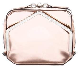 Alexander Wang Metallic Leather Clutch