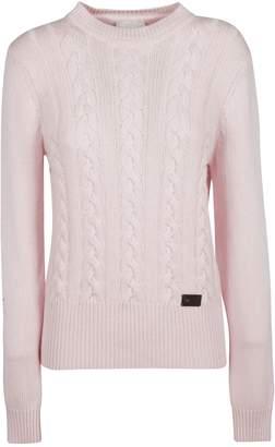 Blumarine Be Braid Knit Pattern Sweater