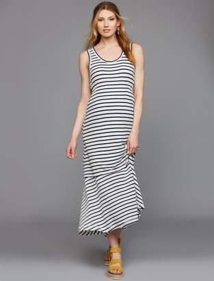 Splendid High-low Hem Maternity Maxi Dress