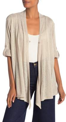 Papillon Long Sleeve Draped Cardigan