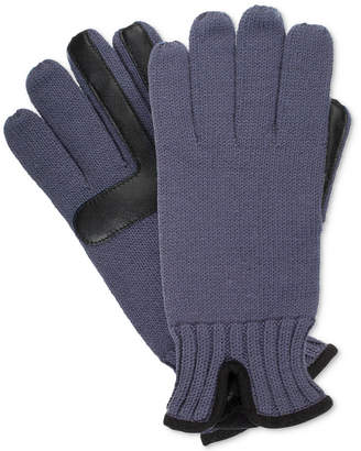 Isotoner Men's smartDRI smarTouch Knit Gloves