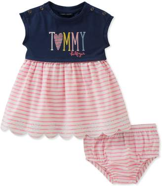 Tommy Hilfiger Baby Girls Dress with Panty