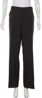Gunex x Brunello Cucinelli Mid-Rise Pinstripe Pants