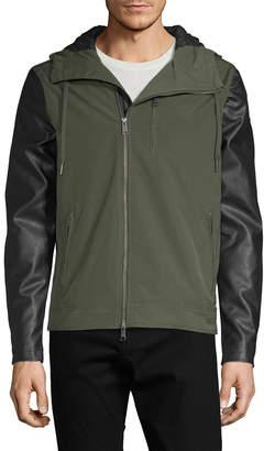 Armani Exchange Hooded Zip-Up Jacket