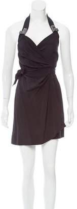 Vena Cava Silk Wrap Dress