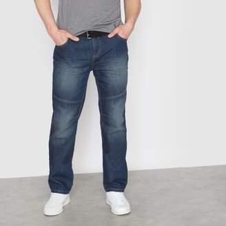 CASTALUNA MEN'S BIG & TALL Elasticated 5-Pocket Jeans