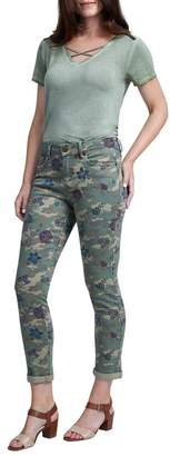 Seven7 Slim Straight Camouflage Jeans