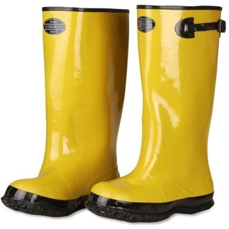 "Cordova Safety Products 17"" Yellow Rubber Slush Boots"
