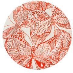 Ink Forest Dinner plate