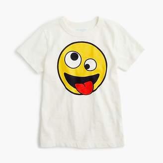 at J.Crew · J.Crew Kids  crazy-eyes emoji T-shirt b9e4afba9