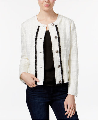 Maison Jules Boucle Jacket, Only at Macy's $99.50 thestylecure.com