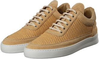 Sneakers Low Top Fundament Mesh 1012018-02 Sand