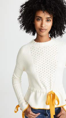 Sonia Rykiel Tie Waist Sweater