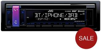 JVC KD-DB98BT In Car Radio With Bluetooth/DAB+ And USB/AUX Input