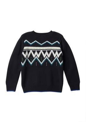 Joe Fresh Graphic Crew Neck Sweater (Big Boys)