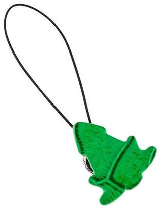 Bottega Veneta Crocodile Cell Phone Charm