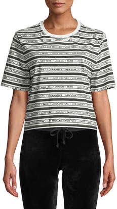 Juicy Couture Juicy Cities Crew-Neck Logo Tee