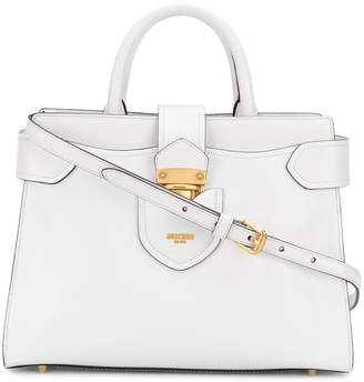 Moschino top handle tote