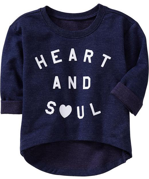 Old Navy Graphic Terry Pullovers for Baby