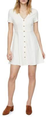 Vero Moda Anna Milo Button-Down Jersey Dress