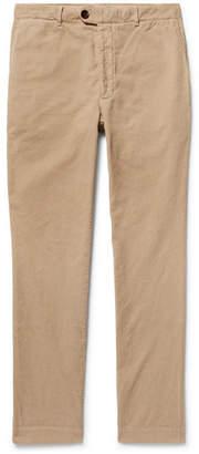 Officine Generale New Fisherman Slim-Fit Cotton-Corduroy Trousers