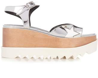 STELLA MCCARTNEY Elyse platform sandals $650 thestylecure.com