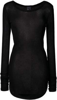 Ann Demeulemeester sheer long sweater