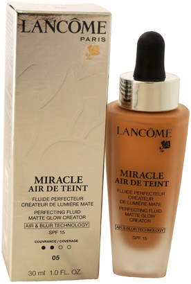 Lancôme Women's 1Oz #05 Beige Noisette Miracle Air De Teint Perfecting Fluid Matte Glow Creator