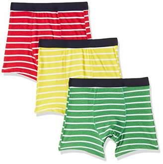2811feb7b4fd1 Mothercare Boy's Stripey Trunks-3 Pack Swim Shorts,(Size:92CM)