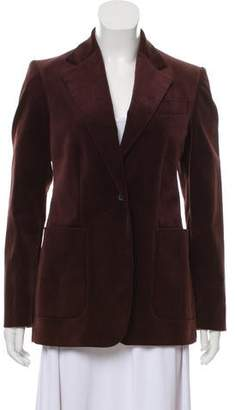 Gucci Velvet Structured Blazer