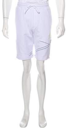 Rochambeau Embroidered Fleece Shorts