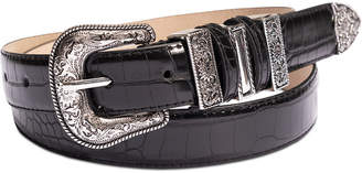 INC International Concepts Inc Western Textured Keeper Belt