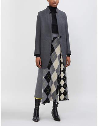 Maje Galim wool-blend coat