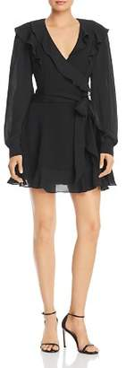 Parker Pauline Ruffled Mini Dress