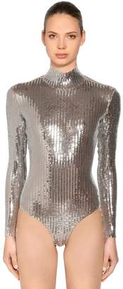 DSQUARED2 Sequined Stretch Bodysuit