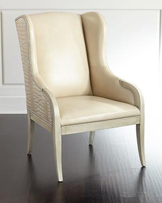 Massoud Granger Leather Chair
