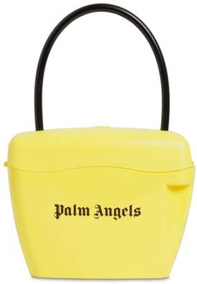 Palm Angels Logo Printed Handle Bag