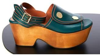 Derek Lam Zaria Button Platform Sandal