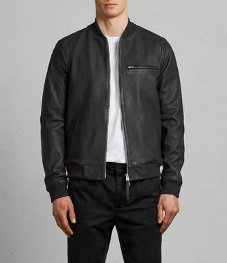 AllSaints Ellison Leather Bomber Jacket
