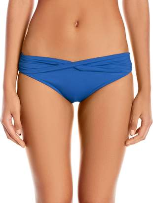 Seafolly Women's Twist Band Hipster Full Coverage Bikini Bottom Swimsuit