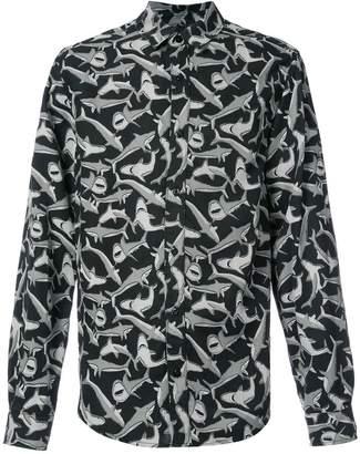 Amiri sharks printed shirt