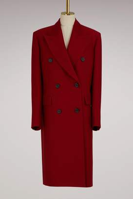 Jil Sander Double Breasted Woolen Coat