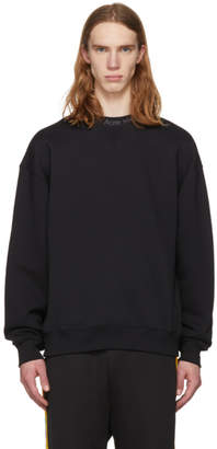 Acne Studios Black Flogho Sweatshirt