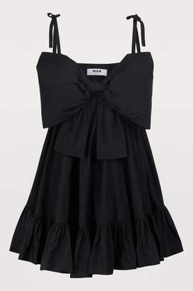 MSGM Short sleeveless dress