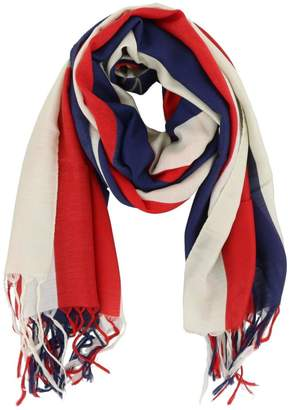 Gucci Sylvie Modal And Silk Striped Scarf