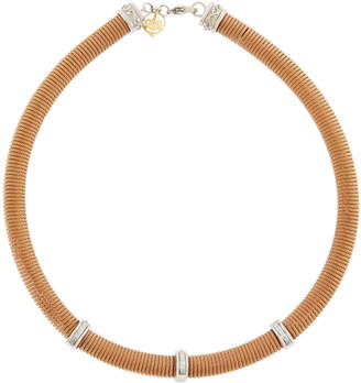 Alor Coiled Diamond-Stations Necklace