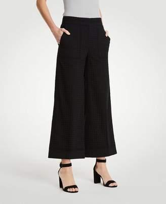 Ann Taylor The Eyelet Wide Leg Marina Pant