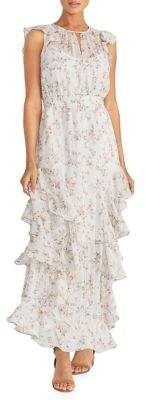 Rachel Roy Issa Chiffon Maxi Dress