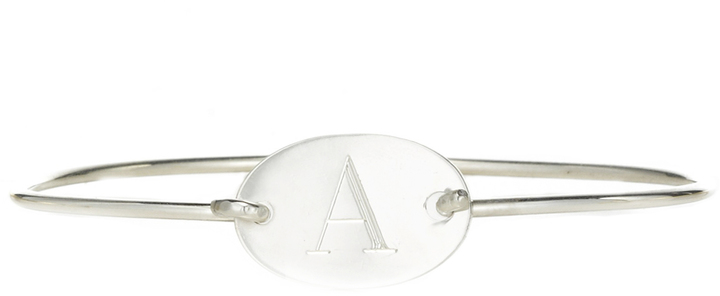 Sarah Chloe Chiara Bangle in Oval