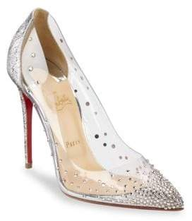 Christian Louboutin Degrastrass 100 Point Toe Pumps